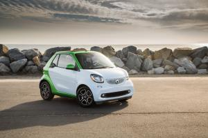 Smart ForTwo Prime Electric Drive Cabrio 2017 года (NA)