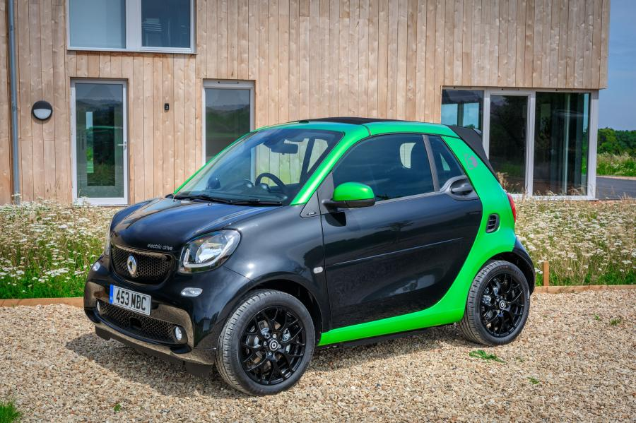 Smart ForTwo Prime Electric Drive Cabrio (A453) (UK) '2017