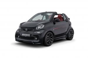 2017 Smart ForTwo Ultimate 125 Black by Brabus