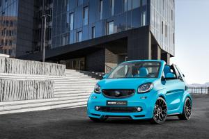 Smart ForTwo Ultimate 125 by Brabus 2017 года
