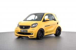 Smart ForTwo Ultimate E Concept by Brabus 2017 года