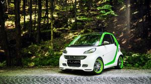 Smart ForTwo Xclusive Coupe by Brabus and Vilner 2017 года