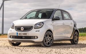 Smart EQ ForFour Prime 2018 года (UK)