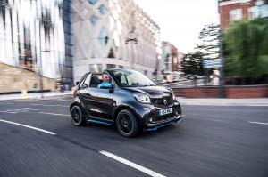 2018 Smart EQ ForTwo Edition Nightsky Cabrio