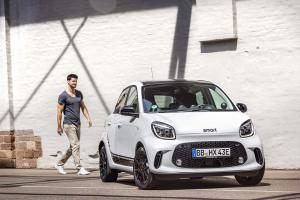 2019 Smart EQ ForFour Edition One
