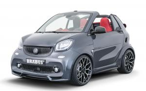 Smart ForTwo Ultimate E Shadow by Brabus 2019 года