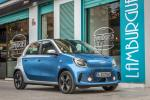 Smart EQ ForFour Passion 2020 года