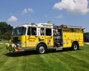 Spartan Gladiator E-One Fire Engine '1992