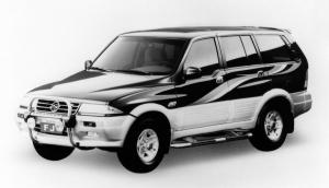 1993 SsangYong Musso