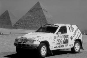 1994 SsangYong Musso Rally Raid Car