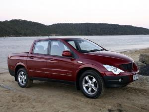 SsangYong Actyon Sports 2007 года (AU)