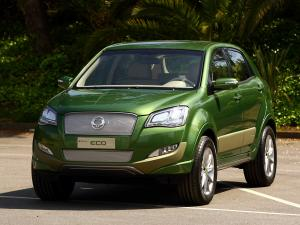 2009 SsangYong C200 Eco Hybrid Concept