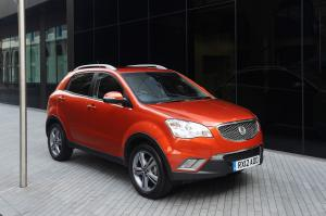 SsangYong Korando Limited Edition 2012 года