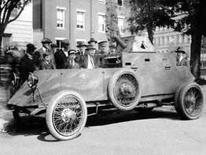 Standard Eight Armored Car 1917 года