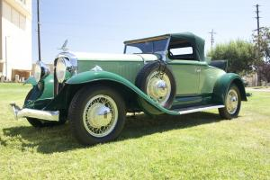 1931 Studebaker President Eight Series 80 4-Seasons Roadster