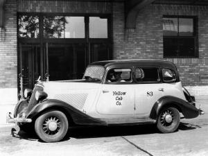 1934 Studebaker Dictator Taxicab
