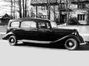 1935 Studebaker Commander Mission Funeral Car by Superior