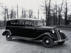 Studebaker Dictator Funeral Car by Superior 1935 года