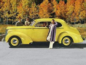 Studebaker Commander Club Sedan 1938 года