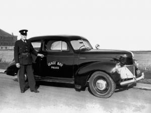 1940 Studebaker Champion DeLuxe Club Sedan Police Car