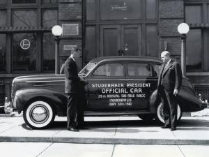 1940 Studebaker President Cruising Sedan Indy 500 Pace Car