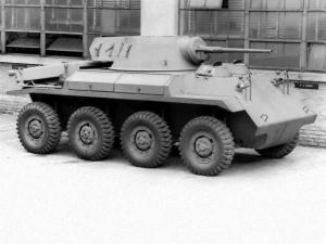 1944 Studebaker T27 Armored Car Prototype