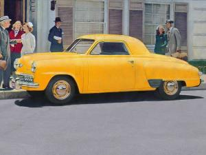 Studebaker Champion DeLuxe Coupe 1948 года