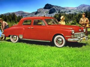 1949 Studebaker Commander Regal DeLuxe 4-Door Sedan