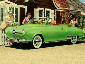 1950 Studebaker Champion Regal DeLuxe Convertible