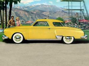 Studebaker Commander Regal DeLuxe Starlight Coupe 1950 года