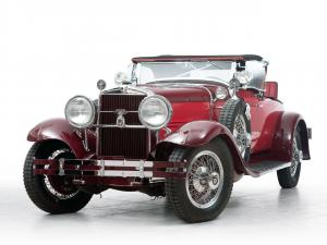 Stutz Blackhawk Speedster 1929 года