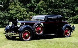 Stutz Model MA Supercharged Coupe by Lancefield