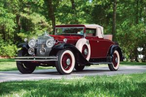 1931 Stutz Model MB SV16 Convertible Coupe by Derham