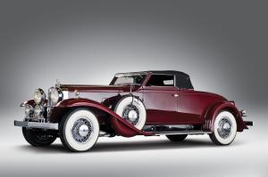 Stutz DV32 Convertible Coupe by Rollston 1932 года