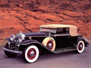 1932 Stutz DV32 Convertible Victoria by Rollston