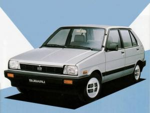 1984 Subaru Justy 5-Door