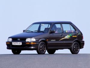 Subaru Justy Four Fun 5-Door 1988 года