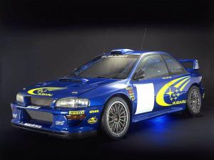 Subaru Impreza 22B Rally Car 1998 года