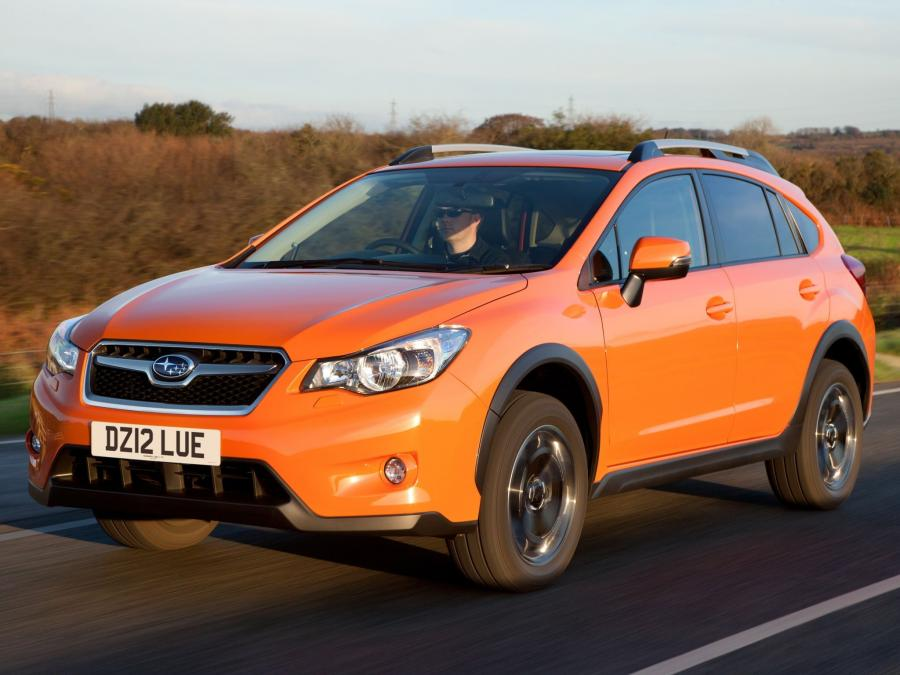 2012 Subaru XV (UK)