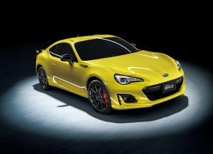 Subaru BRZ GT Yellow Edition 2016 года