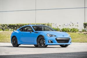 Subaru BRZ Series.HyperBlue 2016 года
