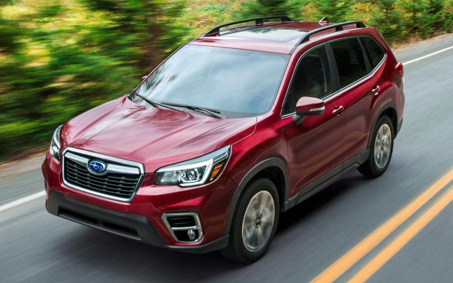 2018 Subaru Forester Limited (NA)