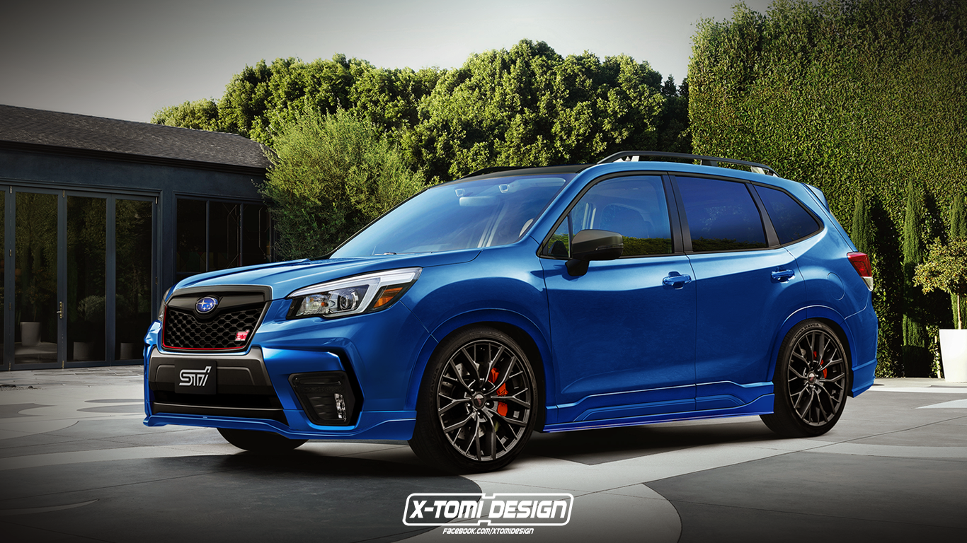 Subaru Forester STI by X-Tomi Design 2018 года