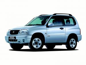 Suzuki Grand Vitara 3-Door 1998 года (UK)