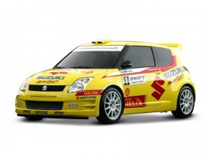 2005 Suzuki Swift Rally Car