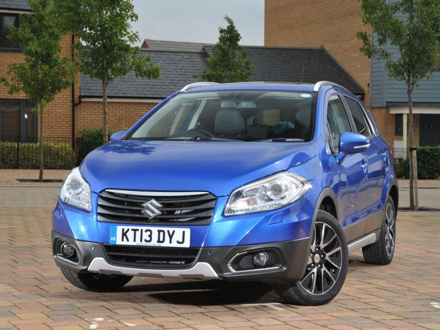 2013 Suzuki SX4 S-Cross (UK)