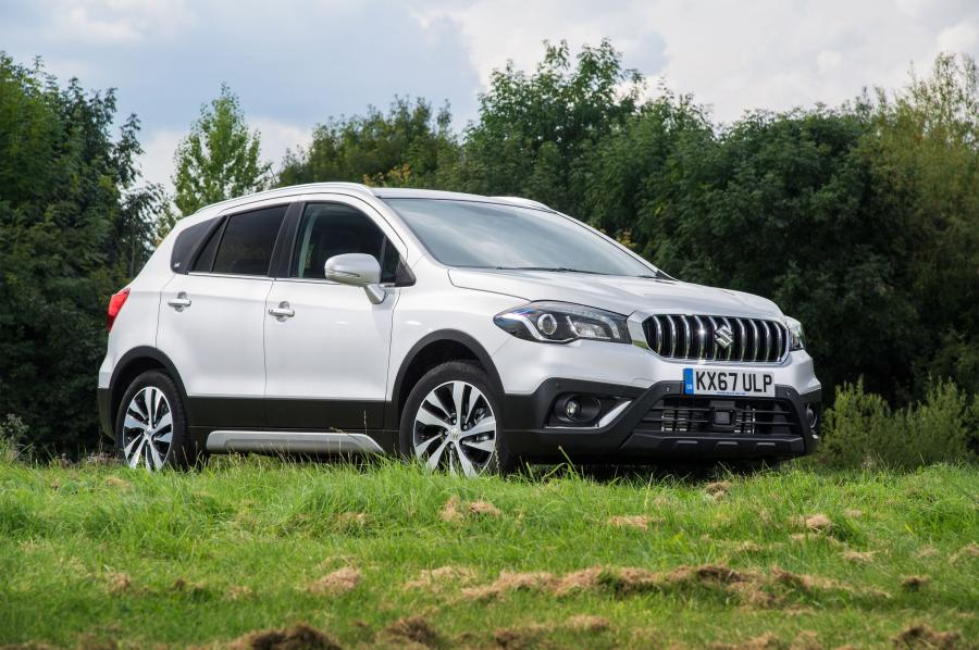 2016 Suzuki SX4 S-Cross (UK)