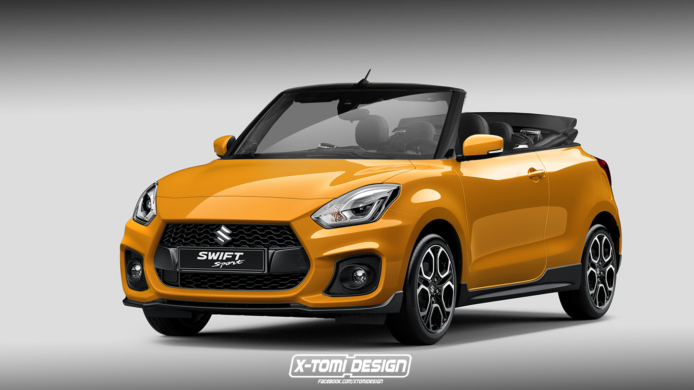 Suzuki Swift Sport Cabrio by X-Tomi Design 2017 года