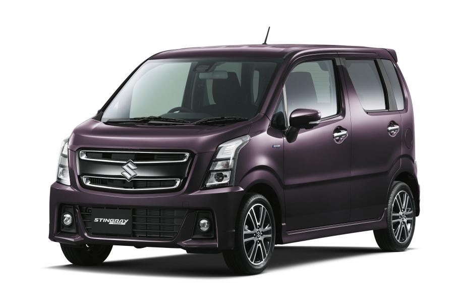 2017 Suzuki Wagon R Stingray Hybrid