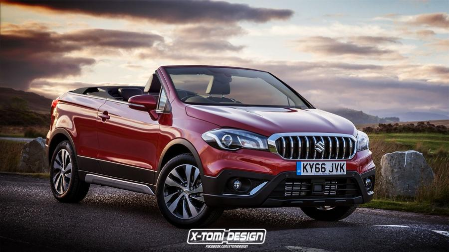 2018 Suzuki SX4 S-Cross Cabrio by X-Tomi Design